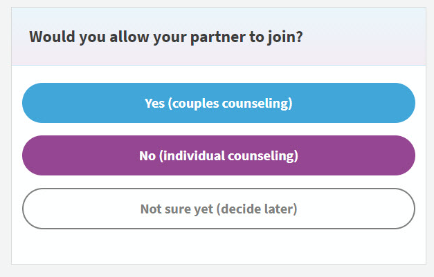 Regain Helps Couples and Individuals